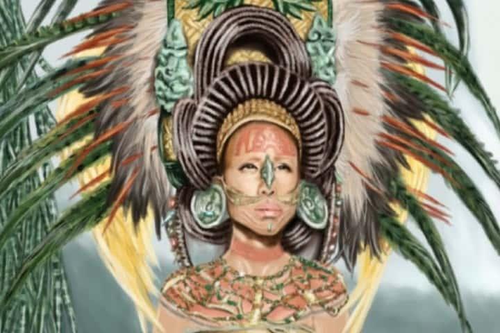 Nicté Ha de la leyenda Maya del Chechén y el Chacá Foto: Mochileros de Yucatán