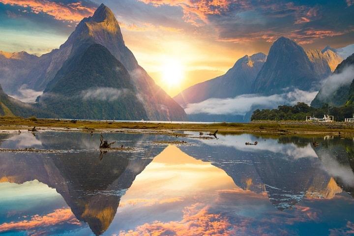 Visita Nueva Zelanda en cuanto tengas oportunidad; encontrarás paisajes así de hermosos. Foto: RTVE