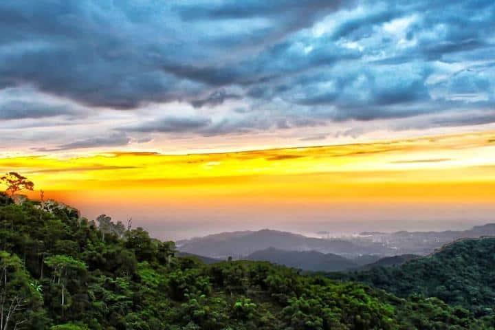 Vista desde el Hostal Sierra Minca. Foto: Facebook