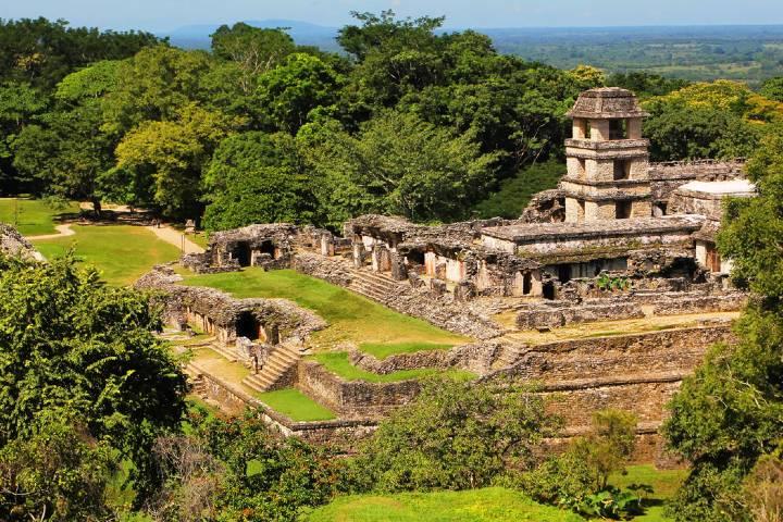 Palenque Foto: Viajo con estilo