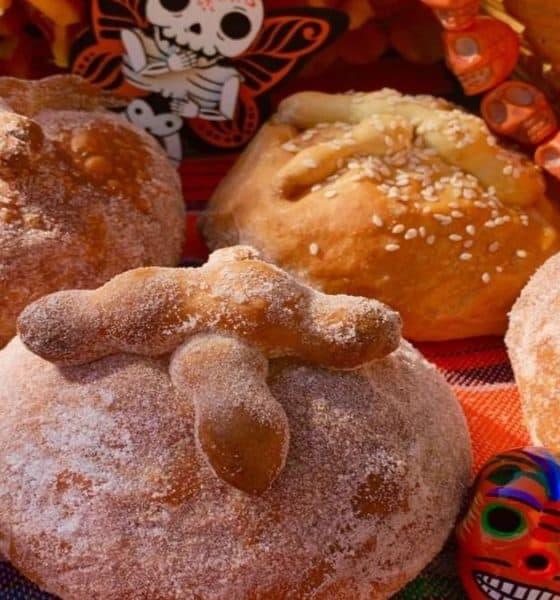 Pan de Muerto de Guadalajara. Foto: Archivo