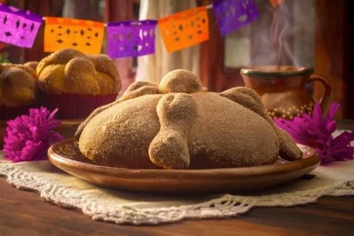 Pan de muerto en Guadalajara. Foto Amigofoods.