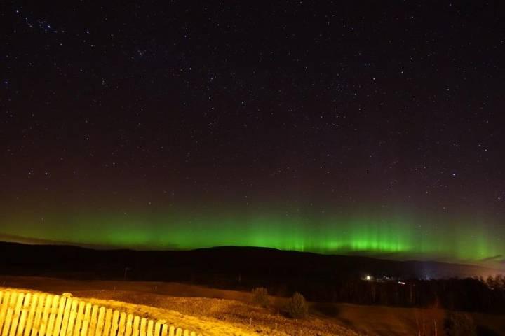 Auroras Boreales en el Parque Nacional Cairngorms. Foto: Tina Jack