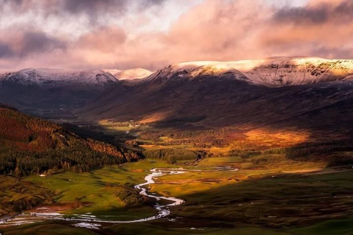 Parque Nacional Cairngorms en Escocia. Foto: Simon Greer
