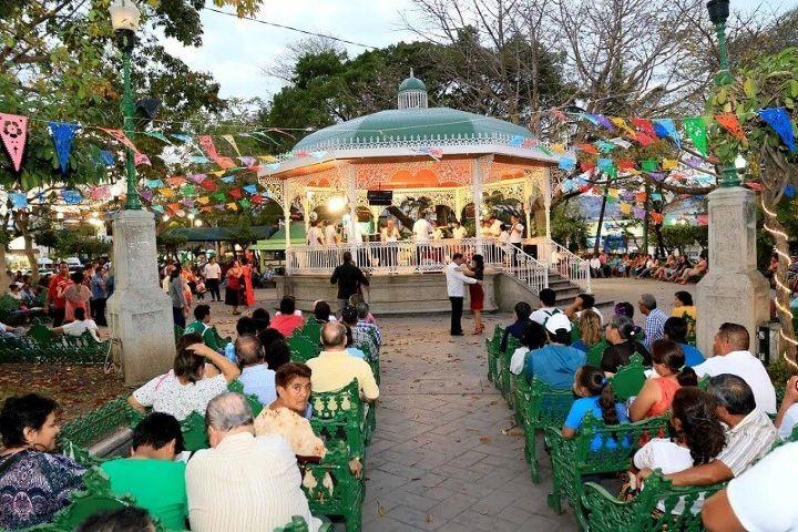 City Express Foto: Parque de la Marimba en Chiapas