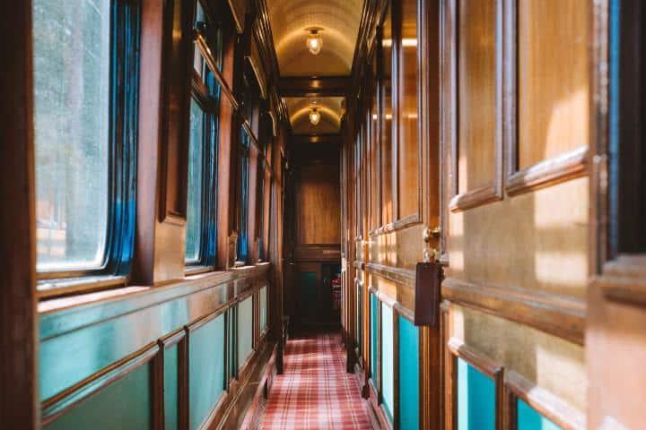Pasillos del Tren. Foto: Archivo