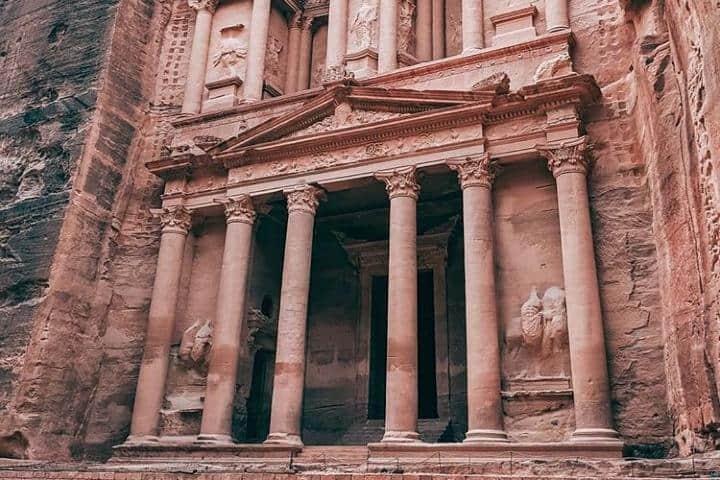 Petra, Jordania. Foto mariarondonrengel