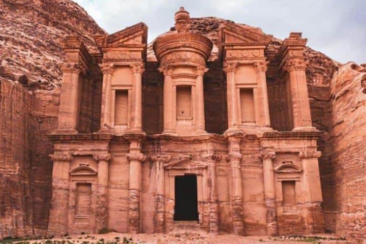 Petra, una de las Maravillas del Mundo. Foto: Heindelbergerin