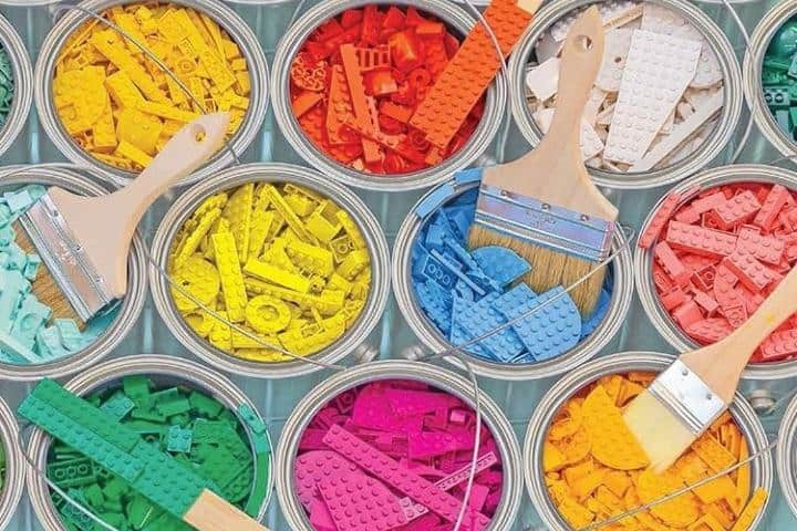 Piezas Lego. Foto: Lego