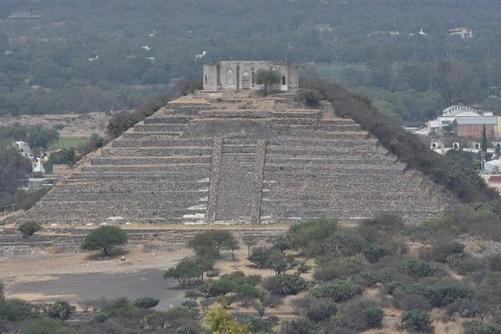 Pirámide Foto: Diario de Querétaro