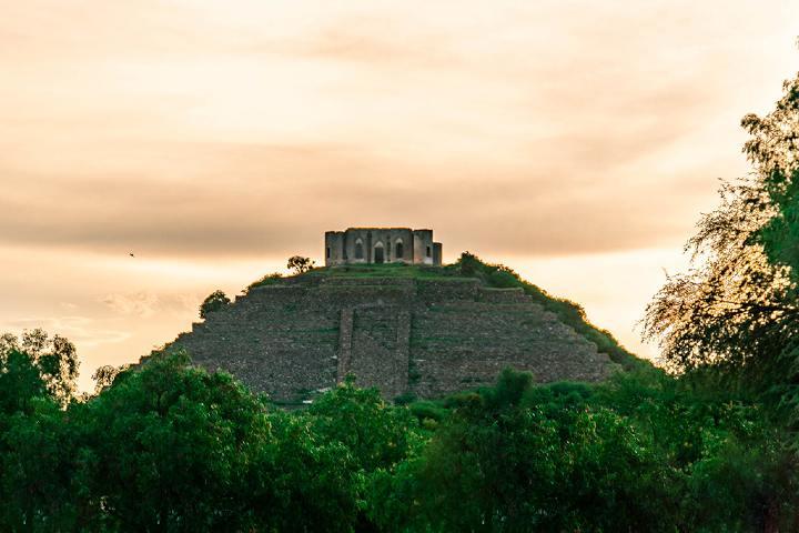 Pirámide Pueblito Foto: Residencial Tratoli