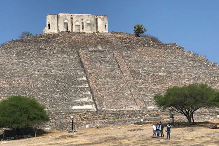 Pirámide con Fortín Foto: Alma Rosa