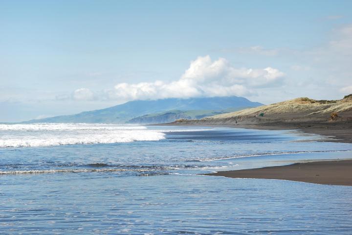 Relájate en Hot Water Beach Foto: Quever Travel