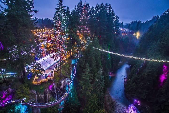Que ver en el puente Capilano en Vancouver. Foto_ CapBridge