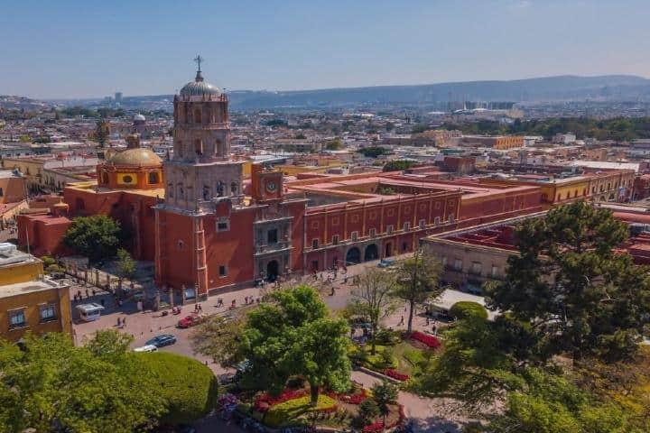 El centro de Querétaro es Patrimonio UNESCO. Foto: Blog Viva Aerobus