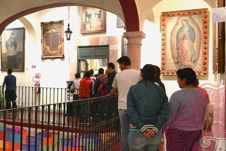 Recorrido dentro del Museo Casa de la Zacatecana. Foto: casadelazacatecana
