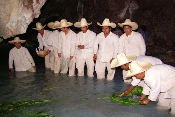 Ritual de pesca de la sardina en Tabasco. Foto Pinterest