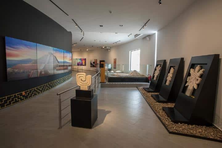 Sala de exhibición Museo del Cerrito Foto: sic gob