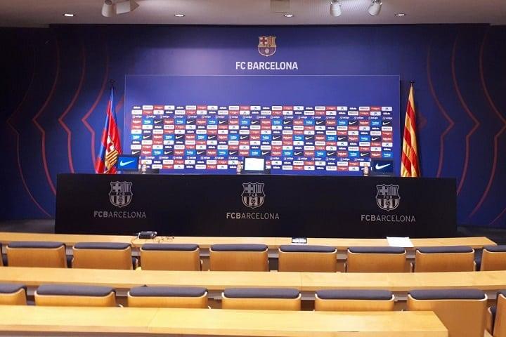 Messi, una pregunta: ¿Qué se siente jugar en el Camp Nou? Foto: FC Barcelona