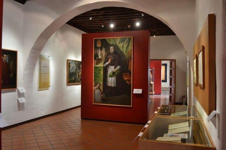 Esta pintura de San Agustín se encuentra dentro del Museo del Ex Convento de Santa Mónica. Foto: Yo soy Puebla