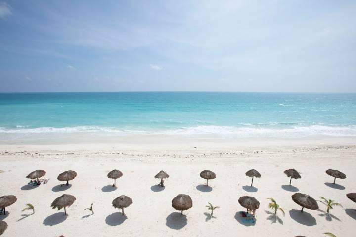 Sorprendente la manera en cómo arreglaron todo para volver y disfrutar del mar ¡Gracias Grand Fiesta Americana Cancún! Foto: Royal Resort