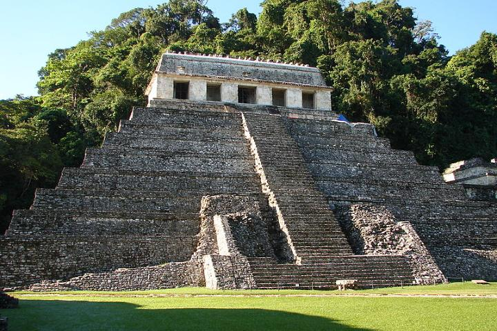 Templo de las inscripciones Palenque Foto: Ancient origins