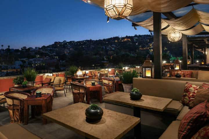 Terraza Foto Hotel Rooswood San Miguel de Allende