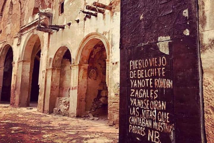 Texto escrito por el último habitante de Belchite. Foto terearnal_arquitectatecnica (1)
