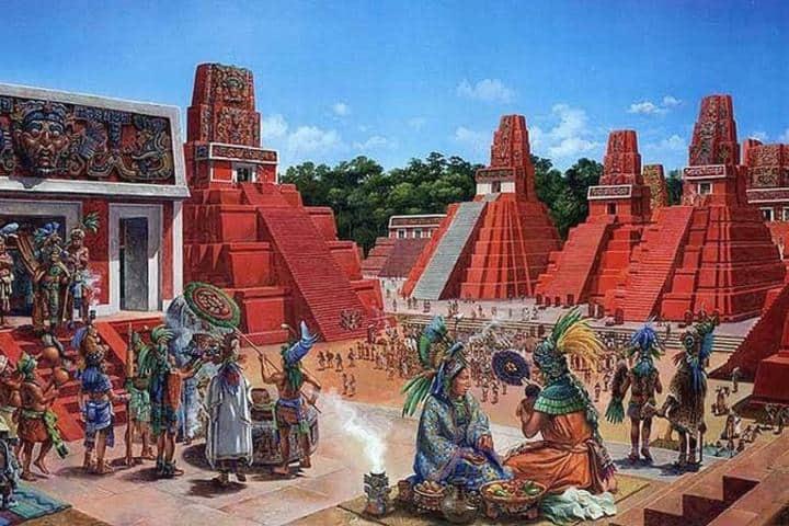 Tikal antigua Foto: Política Historia MX