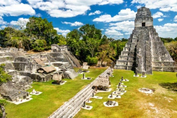 Ciudad de Tikal Foto: Características