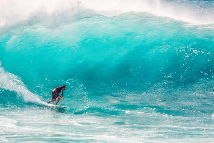 Torneo de surf en puerto escondido. Foto: Revista Travesías