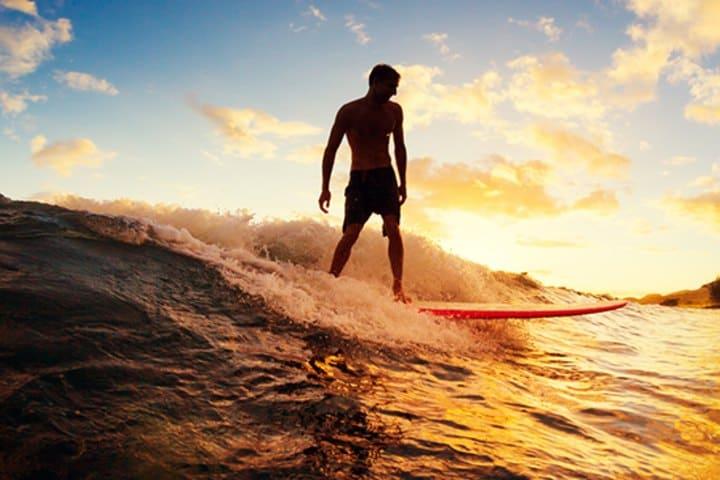 Torneo de surf en puerto escondido. Foto:  Surf Open League