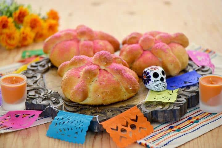 Tradicional, rico y lindo el Pan de Muerto de Guadalajara. Foto: 2000agro