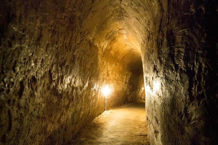Túneles de Cu chi. Foto: Pablo Gonzalez