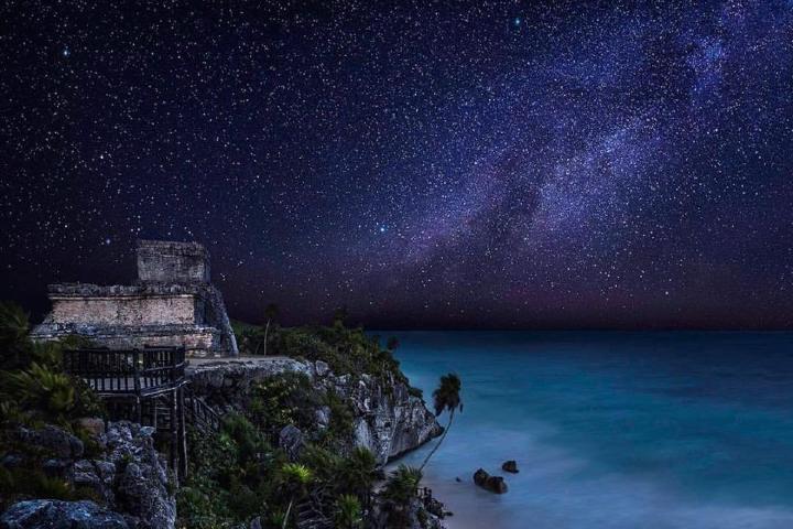 Tulum estrellado Foto: Romi Dzul