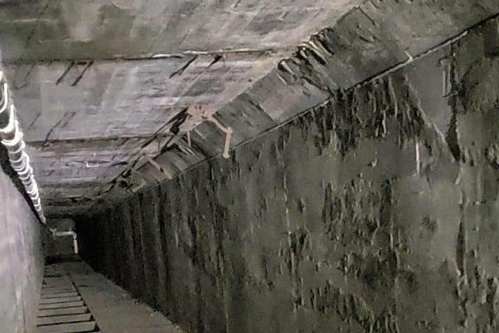 El túnel de la muerte en el Sanatorio de Waverly Hills Foto: lennie omalza | Instagram