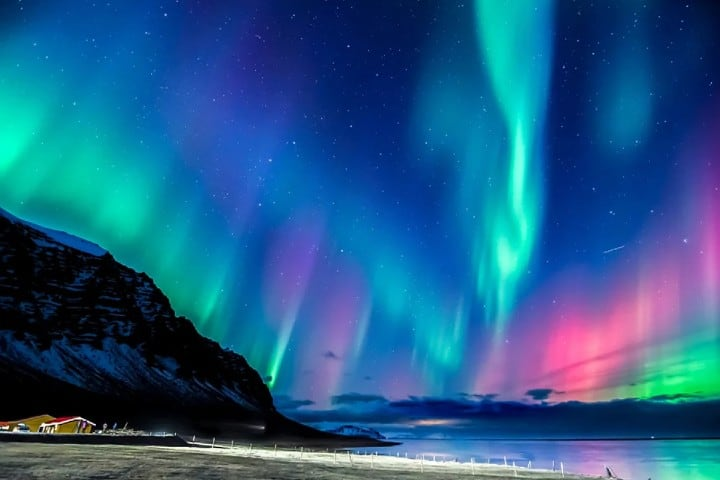 Una explosión de colores son las Aureolas Boreales de Tromsø Foto: mi viaje