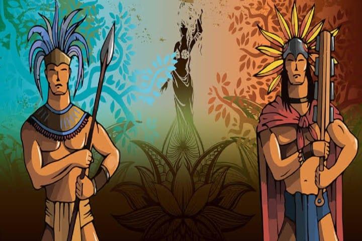 Unos hermanos guerreros sumergidos en la maldición de los dioses Foto: Blog Aventuras Maya