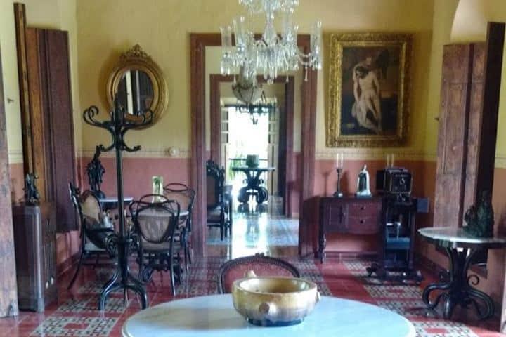 Vestíbulo Casa Principal Foto: Ximena Martinez