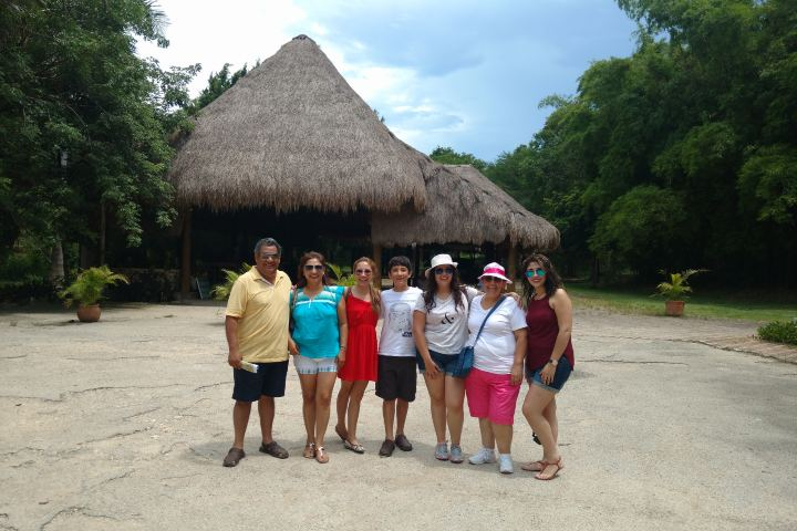 Viaje en Familia a la Península Yucateca Foto: Rossana Martinez