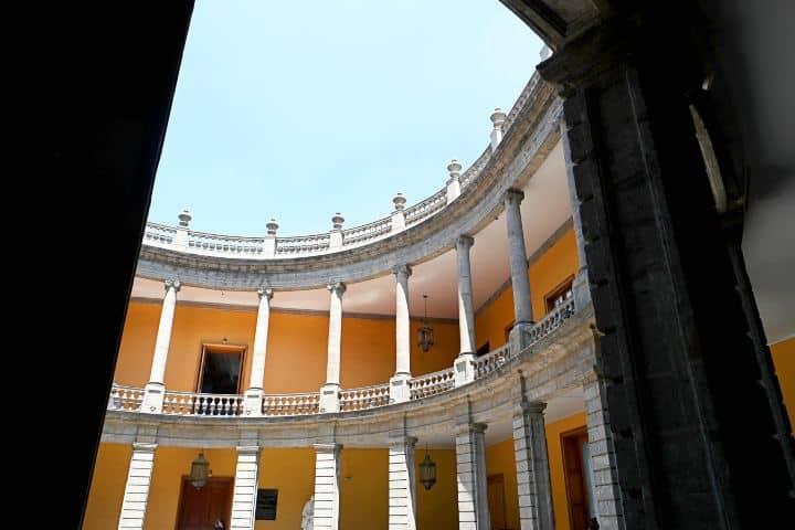 Vista Interior. Foto: Fb Museo Nacional de San Carlos