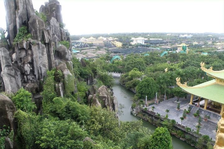 Vista desde montaña de agua Foto: Vietnam business tv