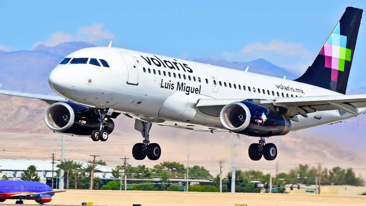 Volaris ruta CDMX – Dallas. Foto: Tomás Del Coro