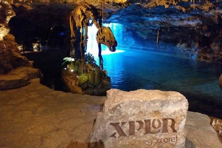 Visita a Xplor en mi viaje a la Península Yucateca Foto: BS Travel Mexico