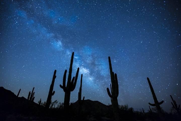 Desierto estrellado Foto: Archivo