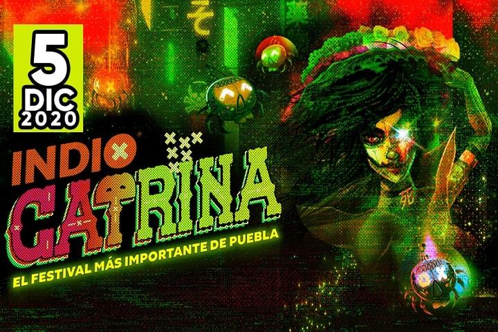 Prepárate para cantar los coros de tus canciones favoritas, sólo en el Festival Catrina de Puebla. Foto: Monterrey Rock