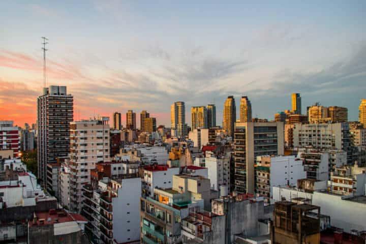 Buenos Aires atardecer