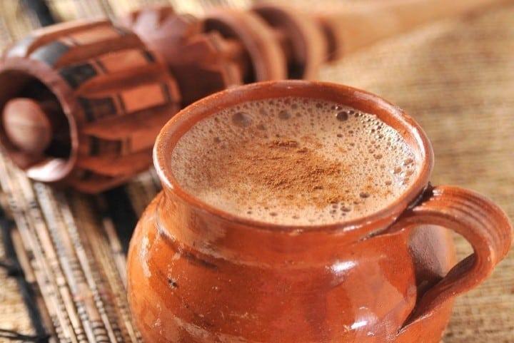 Bebida preparada con Molinillo. Foto: gastronomadas