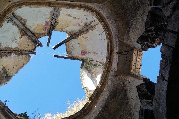 ¿Subirías a la cúpula de la iglesia? Foto: Fernando Bautista