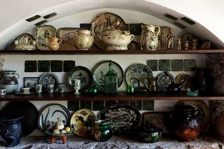 Algunos diseños de Byron en la cerámica de la cocina. Foto: anniem.mcd
